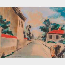 Egon Adler (American/Czech, 1892-1963)      Nazdár, Sinai's!