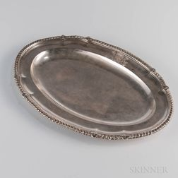 George III Sterling Silver Meat Dish