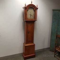 Country Pine Tall Case Clock
