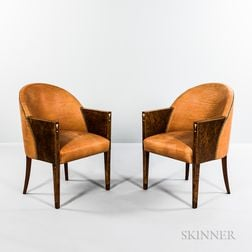Two Art Deco Armchairs