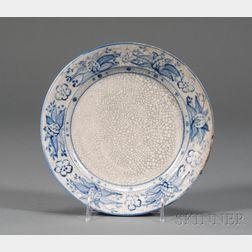 Dedham Pottery Pineapple Plate