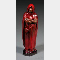 Royal Doulton Flambe Figure of a Moor
