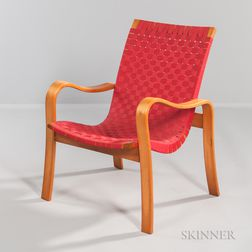 Bentwood Armchair Attributed to Thonet