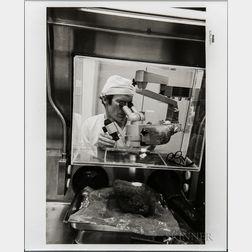 Apollo 14, Moon Rocks, Six Photographs.