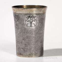 Baltic Parcel-gilt Silver Beaker