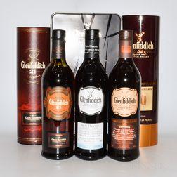 Glenfiddich, 3 750ml bottles (1 oc, 2 ot)