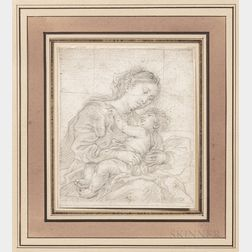 Flemish School, 17th Century      Madonna and Child, Half-length View