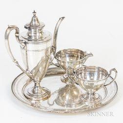 Gorham Sterling Silver Four-piece Coffee Set