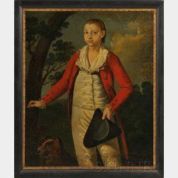 American School, 18th Century      Portrait of David Stoddard Greenough of Boston.