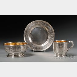 Three Piece McChesney Co. Sterling Youth Set