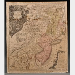 (Maps and Charts, Pennsylvania), Lotter, Tobias Conrad (1717-1777)