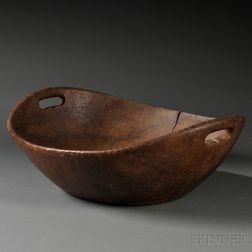 Large Burl Bowl
