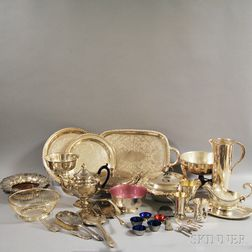 Group of Danish Tableware and Assorted Serving Pieces