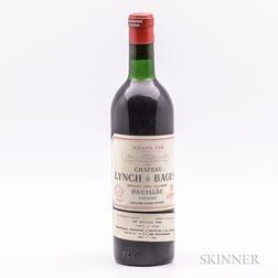 Chateau Lynch Bages 1964, 1 bottle