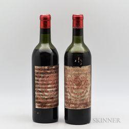 Chateau Pichon Lalande 1958, 2 bottles