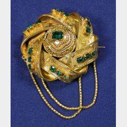 Victorian 18kt Gold Brooch