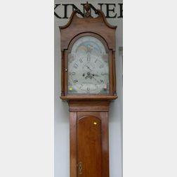 Federal Cherry Tall Case Clock