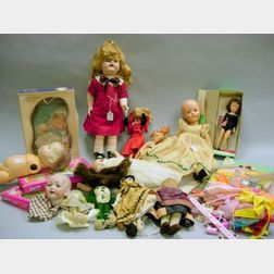 Large Group of Miscellaneous Dolls