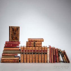 Decorative Bindings, Sets, Thirty-three Volumes.