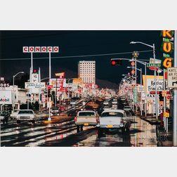 Ernst Haas (Austrian/American, 1921-1986)      Route 66, Albuquerque, New Mexico