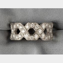 "Platinum and Diamond ""Eternal Link"" Ring, Tiffany & Co."
