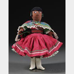 Pueblo Doll in Traditional Dress, Pablita Velarde (1918-2006)