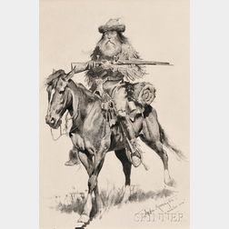 Frederic Remington (American, 1861-1909)      A Mountain Man