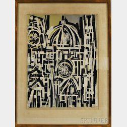 John Ross (American, b. 1921)      Duomo