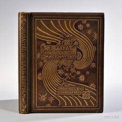 Rubaiyat of Omar Khayyam,   Illustrated by Elihu Vedder (1836-1923).