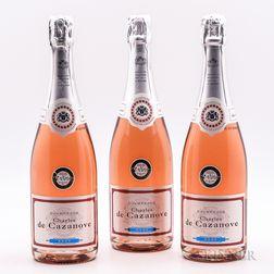 Charles de Cazanove Rose Champagne NV, 3 bottles