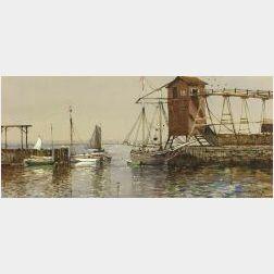 Edmund Darch Lewis (American, 1835-1910)  Narragansett Bay