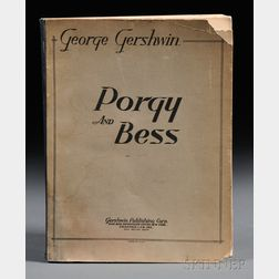 Gershwin, George (1898-1937) The Theatre Guild Presents Porgy and Bess