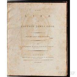 Kippis, Andrew (1725-1795) The Life of Captain James Cook.