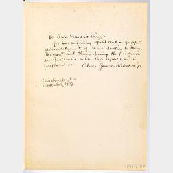 Uaxactun, Guatemala Group E 1926-1931,   Author's Signed Presentation Copy.