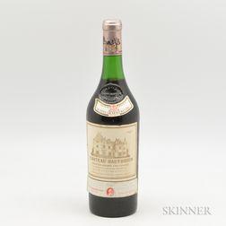 Chateau Haut Brion 1970, 1 bottle