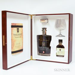 Final Reserve Batch 2 44 Years Old, 1 750ml decanter (pc) 1 100ml bottle