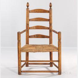 Ash Slat-back Armchair