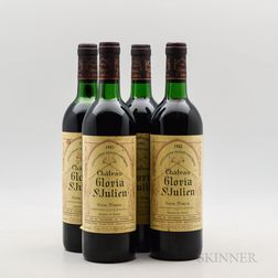 Chateau Gloria 1983, 4 bottles