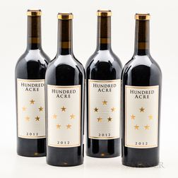Hundred Acre Cabernet Sauvignon Ark Vineyard 2012, 4 bottles