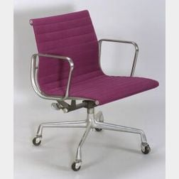 Charles and Ray Eames Aluminum Group Armchair