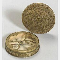 Brass Qibla Indicator