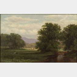David Johnson (American, 1827-1908)    Conway, New Hampshire