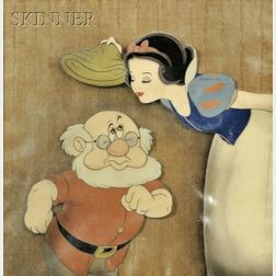 Walt Disney Studios (American, 20th Century)      Lot of Two Animation Cels: Snow White and Doc