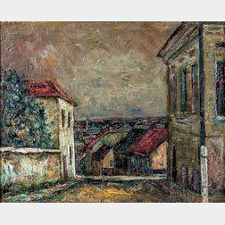 Shimon Okshteyn (Ukrainian/American, b. 1951)    Rooftop View