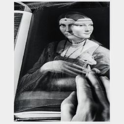 Abelardo Morell (Cuban/American, b. 1948)      After Da Vinci's Lady with Ermine
