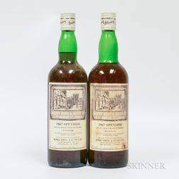 Speyside 1967, 2 750ml bottles Spirits cannot be shipped. Please see http://bit.ly/sk-spirits for more info.