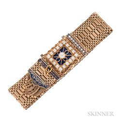 Victorian Revival 14kt Gold Covered Watch