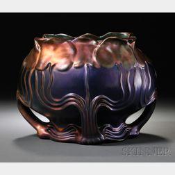 Zsolnay Art Nouveau Cache Pot