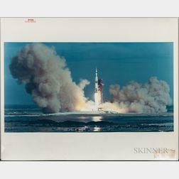 Apollo 15, Liftoff, July 26, 1971.