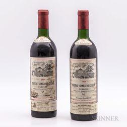 Chateau Gombaude Gillot 1959, 2 bottles